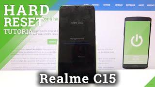 RealmeC15でハードリセット操作を実行する方法-設定からデバイスをリセット