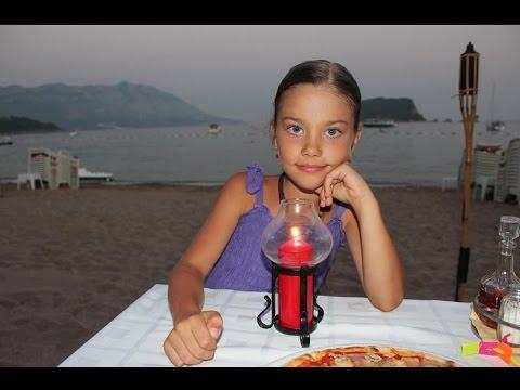 Черногория. Будва. Отдых с детьми. Montenegro. Budva. Rest with children.