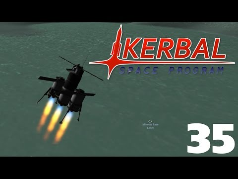 Road To Exploration #35, Mining Operations, Kerbal Space Program