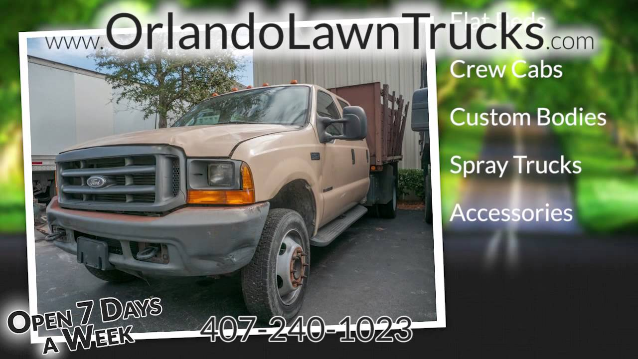 Orlando Lawn Trucks - used lawn & landscape trucks in Florida - Orlando Lawn Trucks - Used Lawn & Landscape Trucks In Florida - YouTube