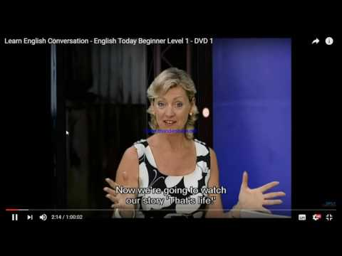 Learn English Conversation   English Today Beginner Level 1   DVD 1   20_02
