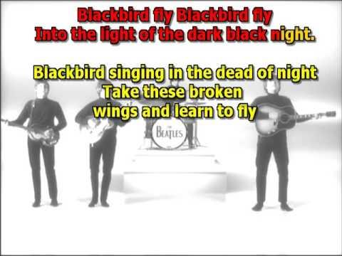 Blackbird Beatles best karaoke instrumental lyrics