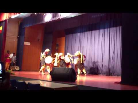 UAS Bangalore Dollu and Jathre Dance