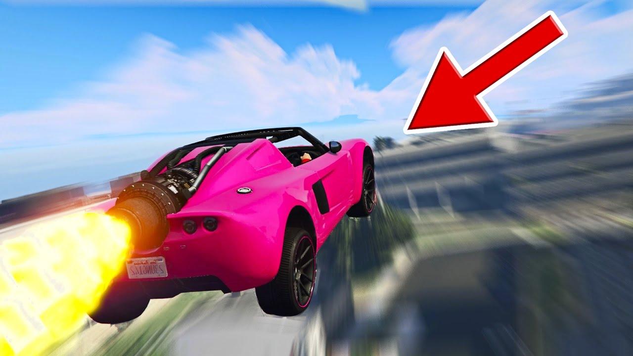 BESTER STUNT IN GTA 5! GTA 5: Stunt Challenge #1 (Funny Moments) - Bester Stunt in GTA 5! (Funny Moments)