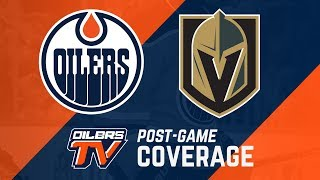 ARCHIVE | Post-Game Coverage - Oilers vs Golden Knights