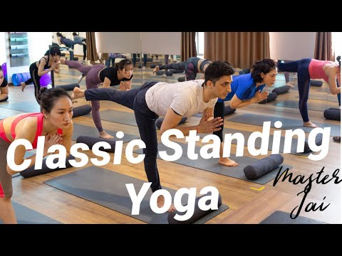 Sequence of Classic Standing Poses with Master Jai