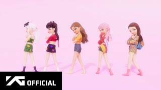 BLACKPINK X Selena Gomez - 'Ice Cream' DANCE PERFORMANCE in ZEPETO