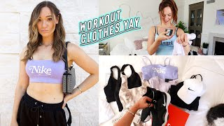 new workout clothes / athletic haul *not sponsored* LOL