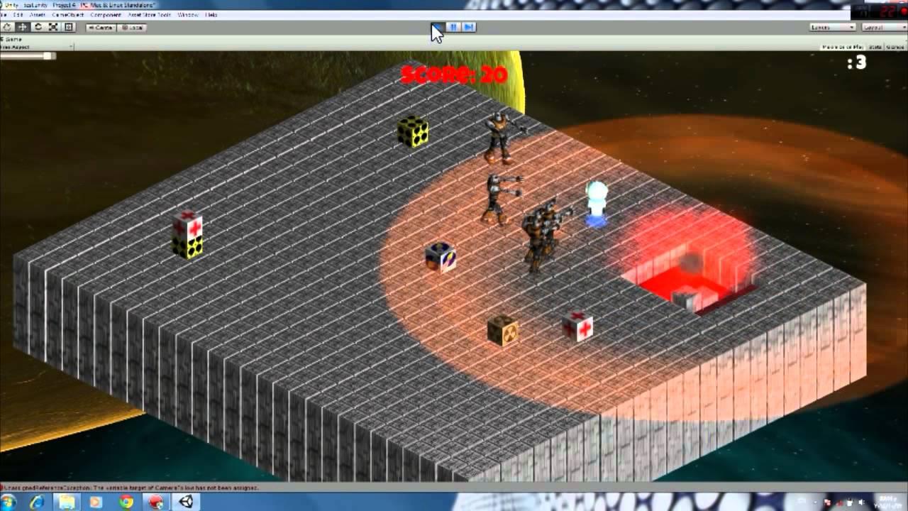 Unity 3D 35-hour programming challenge