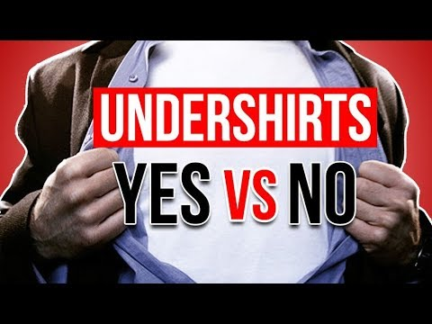Should You Wear An Undershirt? Yes Or No?