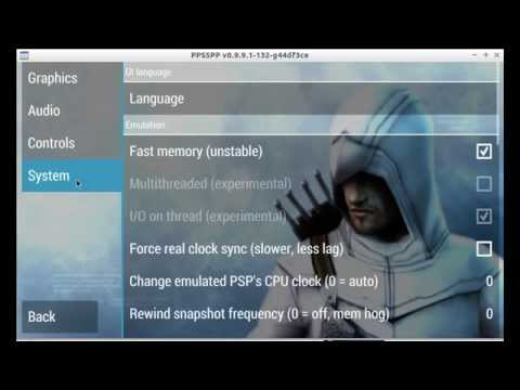Ppsspp Assasins Creed Bloodline Settings Youtube