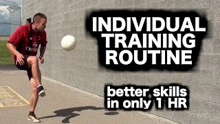 How to practice soccer by yourself ► How to train for football ► Soccer drills and training