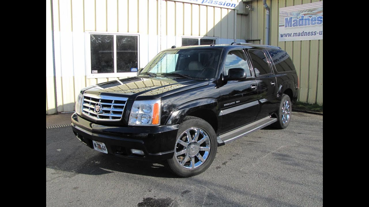 Cadillac Escalade Esv Platinum 2005 Youtube