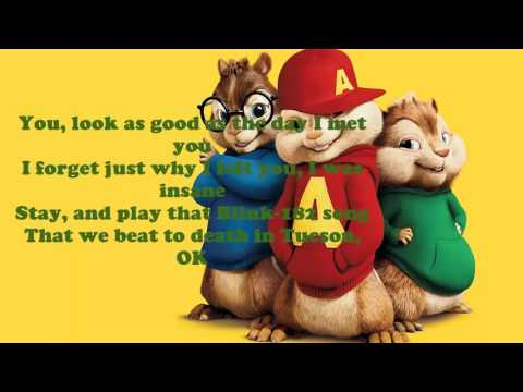 The Chainsmokers - Closer Lyrics - Chipmunks