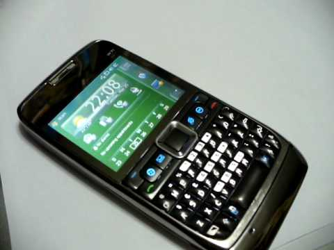 W71 Windows Mobile Dual SIM E71 clone cellphone