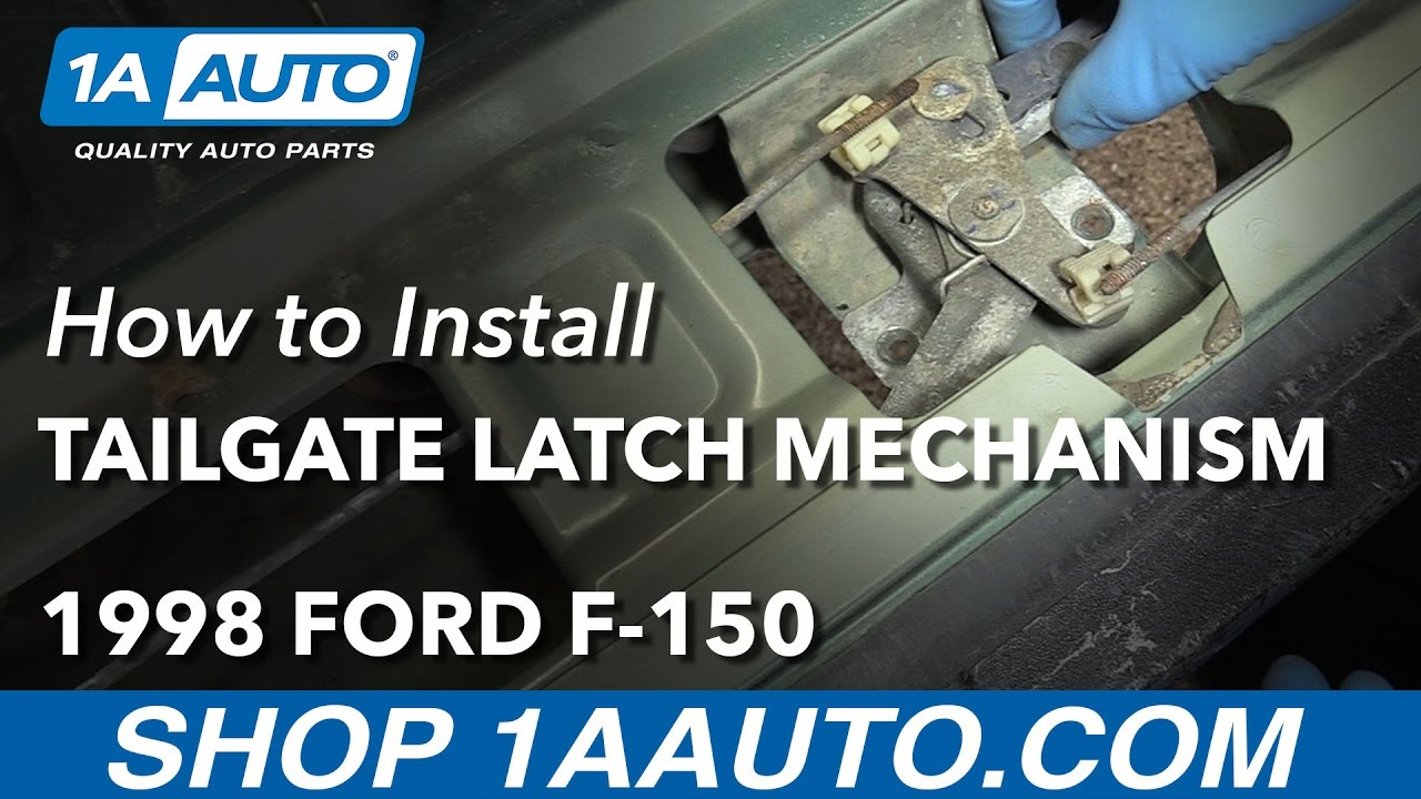 How To Replace Tailgate Latch Mechanism 97 04 Ford F 150