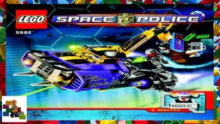lego instructions space space police 3 5982 smash n grab
