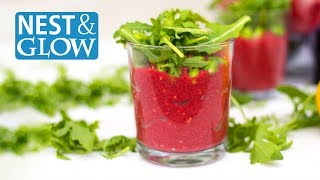 FAST Beetroot and Bean Protein Pots - Vegan & Healthy