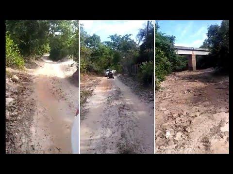 Moradora cobra melhoria em estrada entre Boqueirão do Piauí e Cocal de Telha-PI