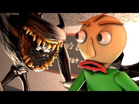 Beast Bendy Meets Baldi (Bendy And The Ink Machine Chapter 5 Animation & Baldi's Basics SFM)