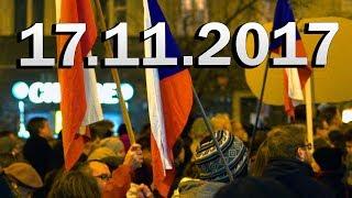 17.11. 2017 // Praha VÁCLAVSKÉ NÁMĚSTÍ 17. Listopad