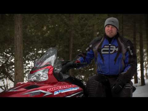 SnowTrax Rides Polaris' 600 IQ LX