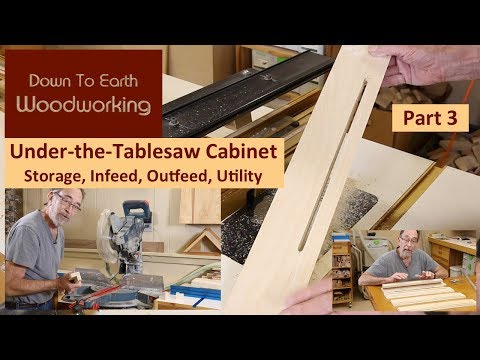 Under Table Saw Storage Cabinet Part 3