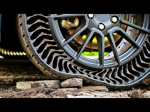 The News Junkie - Flat Tires May Be A Thing Of The Past