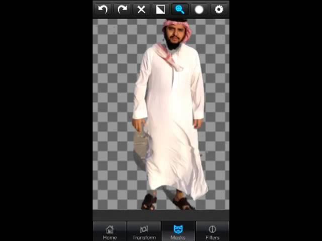 اسهل برنامج لدمج الصور Superimpose Youtube