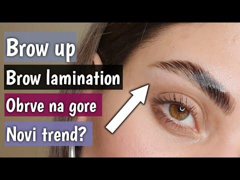 Kako Da Napravite Začešljane Obrve | Brow Up | Brow Lamination