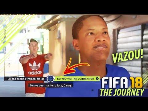 FIFA 18 THE JOURNEY!!! VAZOU O COMEÇO DA SÉRIE!!! (FIFA STREET GAMEPLAY) 🔥😱