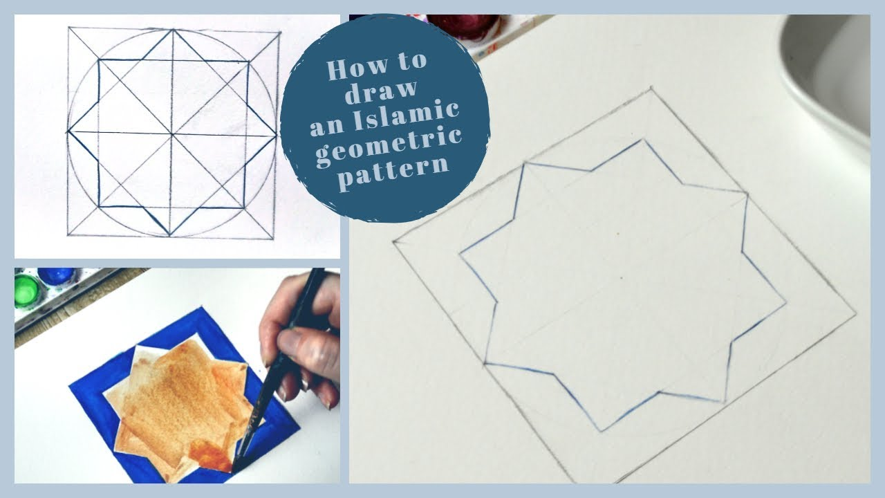 How To Draw A Simple Islamic Geometric Pattern