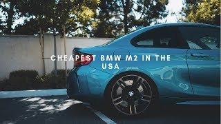 MY FRIEND BOUGHT THE CHEAPEST BMW M2 IN THE USA!