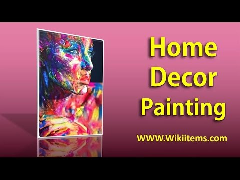 Living Room Decorating Ideas , Home Decorating with wall painting 11