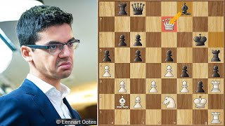 Queen Blunder or a Genius Move?  || Giri vs Tari || Tata Steel (2021)