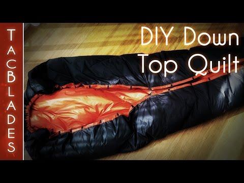 DIY Down Quilt / Underquilt 700g -7 C / 25oz 20 F