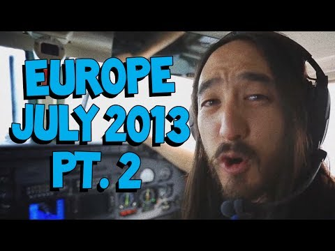 Crazy Europe July Tour Pt. 2 (ft. NERVO, Dada Life, And More!) - On The Road W/ Steve Aoki #79