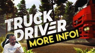 Truck Driver - MORE INFO PS4/Xbox/PC