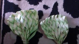 Cara Membuat Kipas dari Daun Kelapa