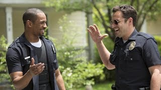 Jake Johnson, Damon Wayans Jr. and Rob Riggle Interview - Let's Be Cops | The MacGuffin
