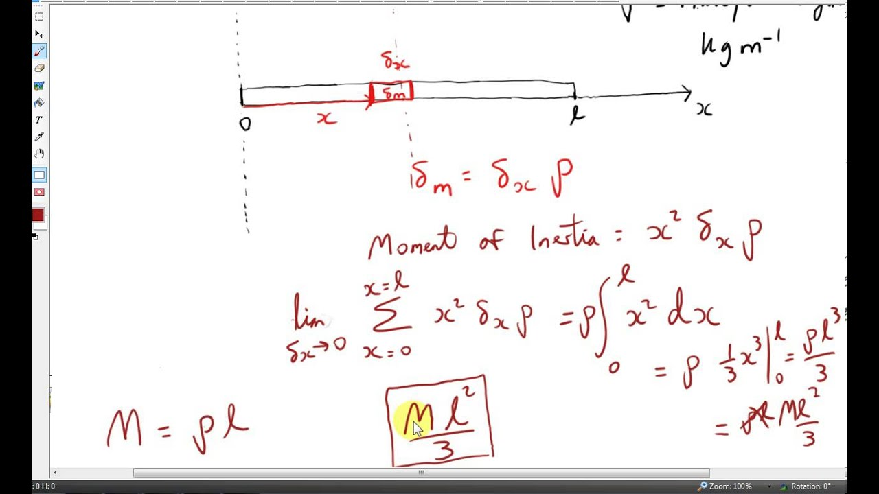 mass moment of inertia Solved: hi, can anyone tell me how the mass moment of inertia (kgcm2) is calculated in inventor it says it is calculated using negative integral.