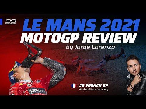 MOTOGP LE MANS 2021 ▶️ REVIEW by Jorge Lorenzo #99seconds
