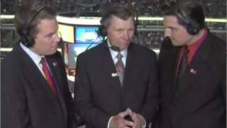 Chicago Blackhawks Stan Mikita Between Periods Interview