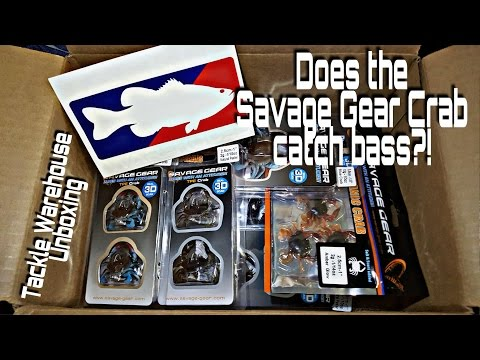 **TACKLE WAREHOUSE UNBOXING** SAVAGE GEAR CRABS!