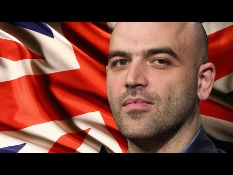 Roberto Saviano Says UK is Most Corrupt Country on Earth
