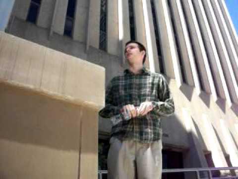 Semi-Quiet Open Air Preaching - Courthouse (Raleigh, NC) - John Boruff