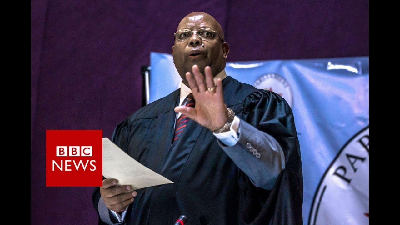 Mugabe Resigns The resignation letter BBC