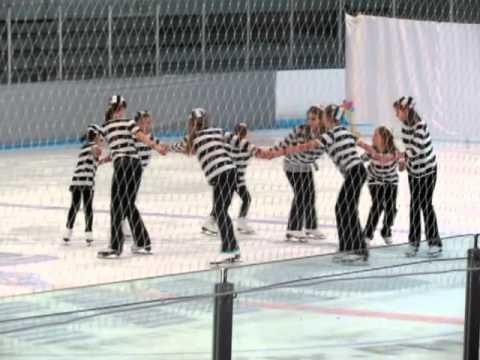 """Jailhouse Rock"" Figure Skating Group"