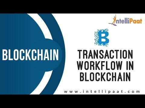 Transaction Workflow in Blockchain | Blockchain Tutorial | Blockchain Course | Intellipaat