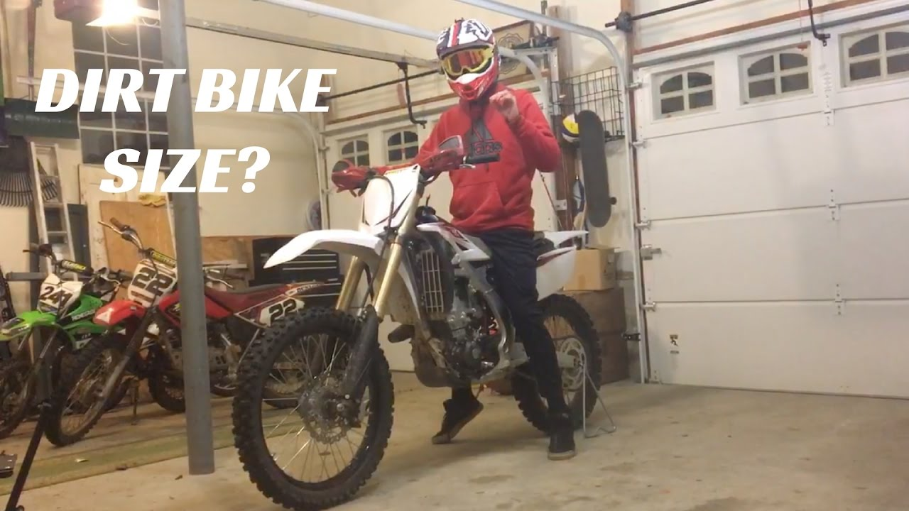 How To Choose The Right Size Dirt Bike New Rider Series Ep 4